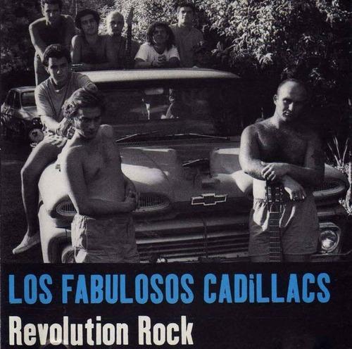 cd los fabulosos cadillacs revolution rock altaya oka exitos