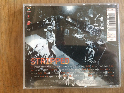 cd original the rolling stones - stripped