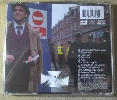 cd robbie williams  sing when you´re winning