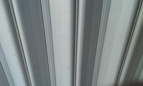 celosias en pvc plegables para ventana nuevas color blanco