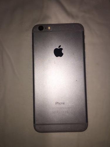 celular apple iphone 6 plus 64gb negro y gris con accesorios