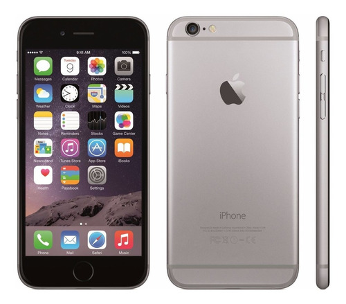 celular iphone 6 plus 128gb pantalla 5,5 libre 4g lte fullhd