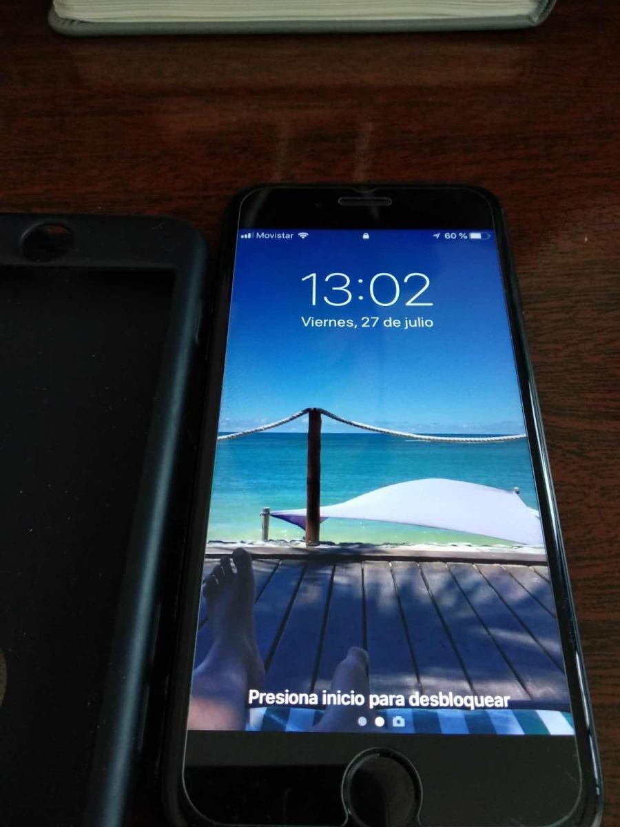ed7cd1cf2ef Celular iPhone 7 32gb Libre Negro Inmaculado - $ 13.500,00 en ...
