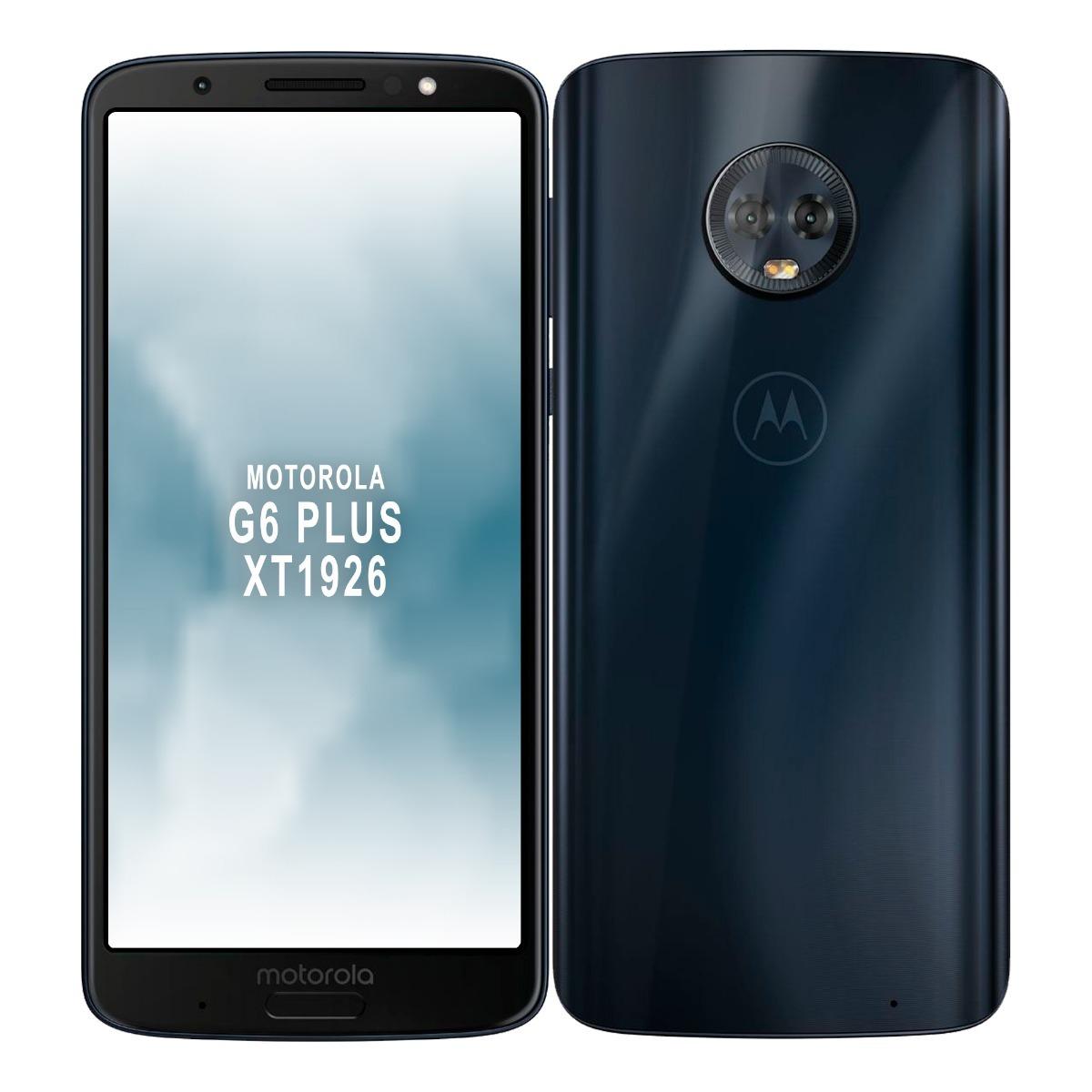 de91fa27c55 Celular Motorola Moto G6 Plus 4gb Ram 64gb Segurcell - U$S 629,00 en  Mercado Libre