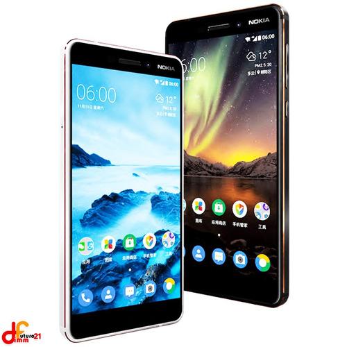 celular nokia 6 3 ram 4g lte 5.5´ android puro futuro21
