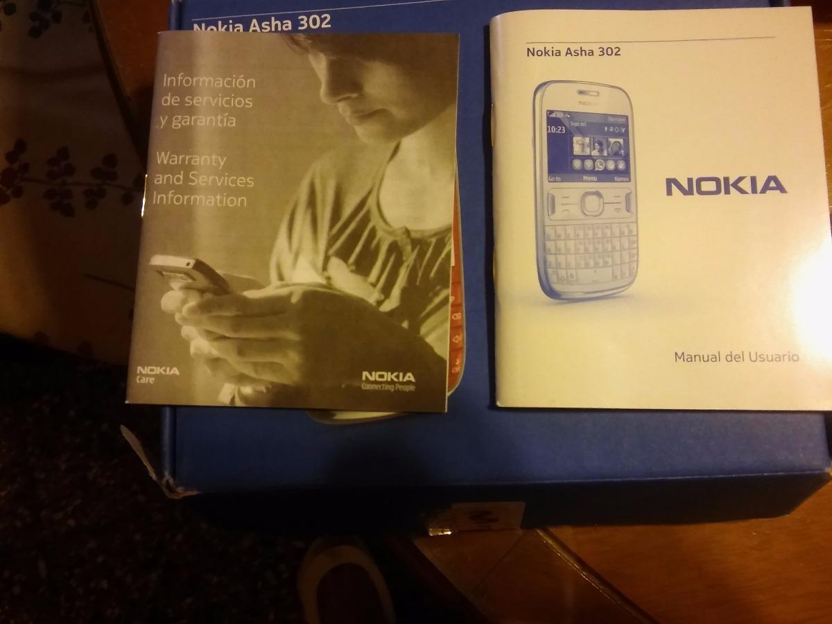 celular nokia asha 302 500 00 en mercado libre rh articulo mercadolibre com ar Manual Del iPhone 5 Manual De Usuario Icono