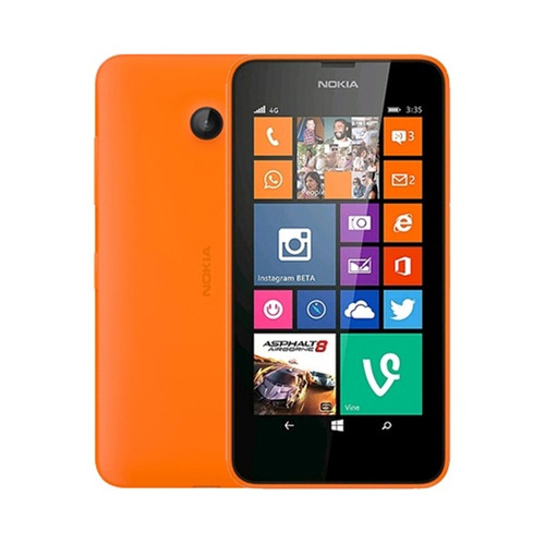celular nokia lumia 635 lte orange -4.5 /5mp/fm - tecsys