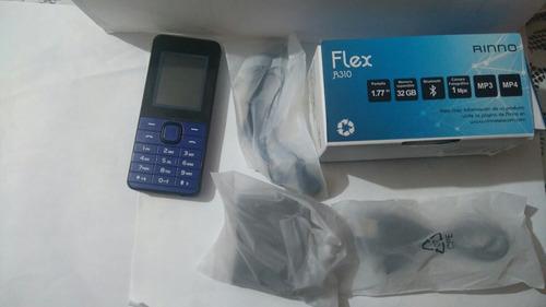 celular rinno flex  completamente nuevo