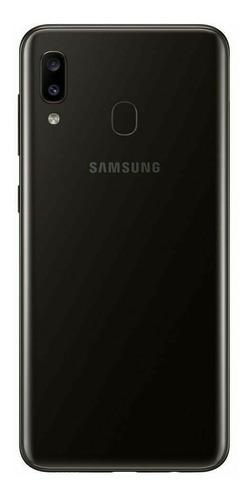celular samsung a20 cámara dual 32/3 gb-mobilestore+vidrio