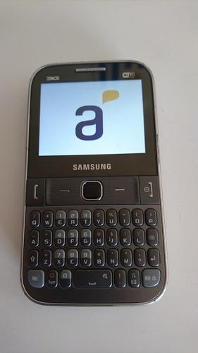 celular samsung chat527 gt-s5270y sin cargador