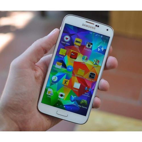 celular samsung g900a galaxy s5 lte negro-5.1 uhd/waterproof