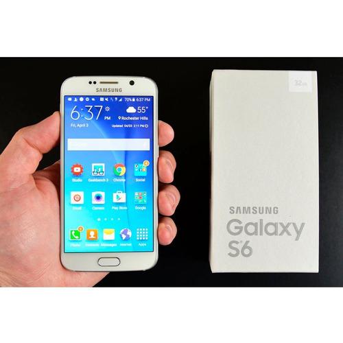 celular samsung g920f galaxy s6 32gb blanco - lcp