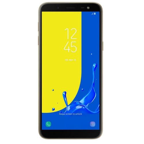 celular samsung j6 j600g/ds gold tecnológico