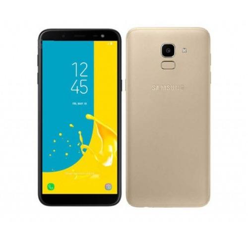 celular samsung j600g galaxy j6 lte dual dorado