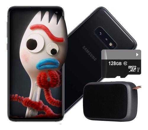 celular samsung s10e g970f 5,8 128gb/6gb + 128gb +regalo amv