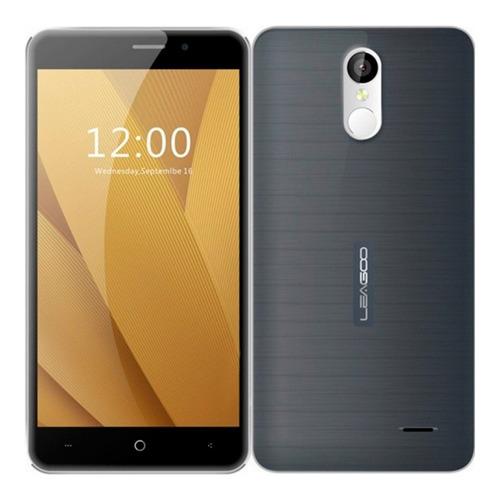 celular smart dual sim plus 16gb - 2gb lector huella gris