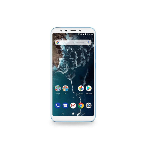 celular xiaomi mi a2 32gb 4gb blue dual sim        zonatecno