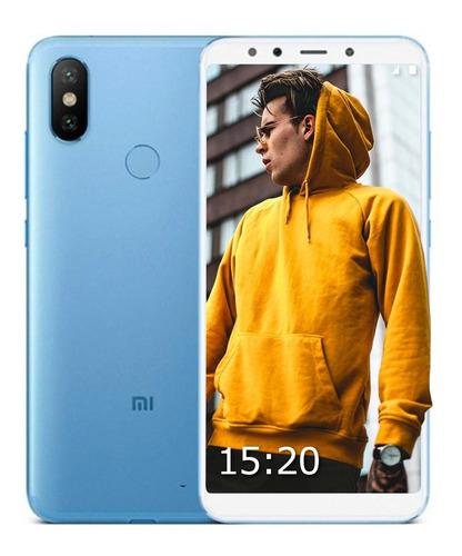celular xiaomi mi a2 4ram 64gb android puro +funda futuro21