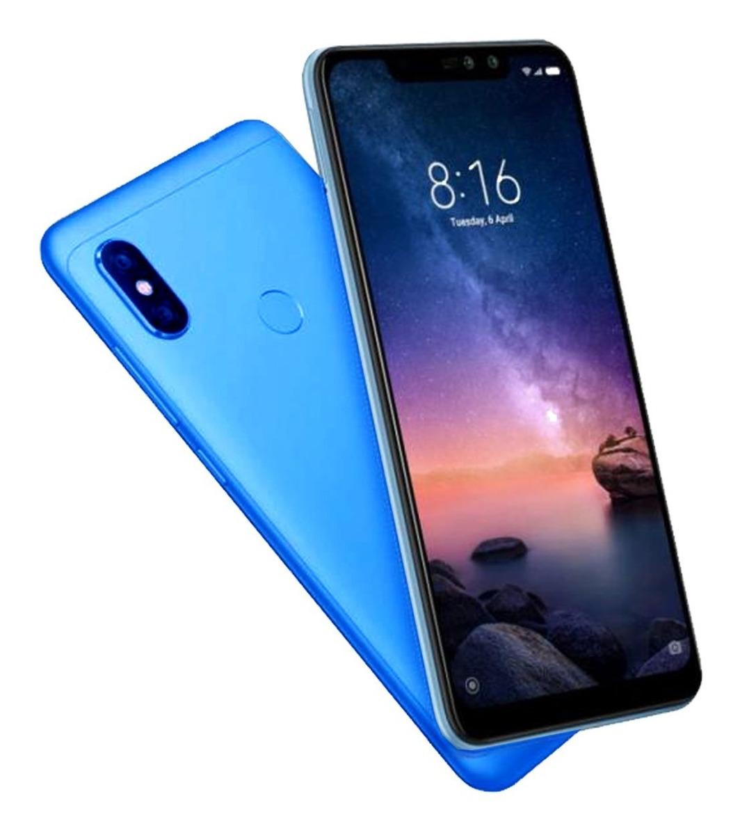 Celular Xiaomi Redmi Note 6 Pro 6 26 Color Azul El Cerro