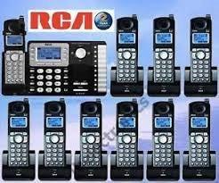 central inalambrica c/contestador rca 25252 2 x 10
