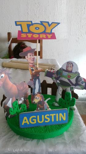 centro de mesa o adorno toy story