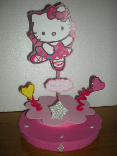 centros de mesa cars backardigans minnie kitty princesas dor