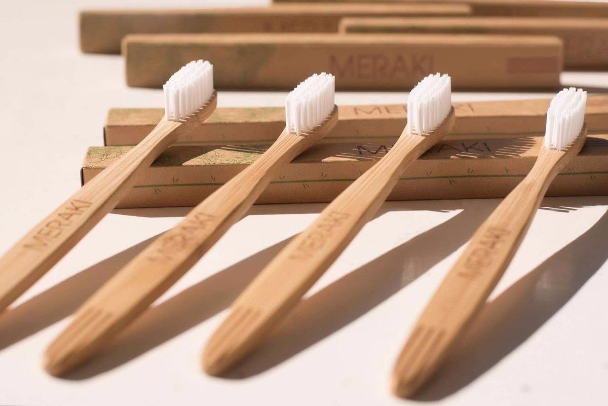 cepillo de dientes de bambu ecológicos suave. Cargando zoom. 6fea283c5c61