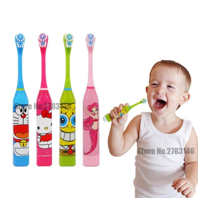 Cepillo De Dientes Electrico Para Niños Nena -   551 b50f4447c401