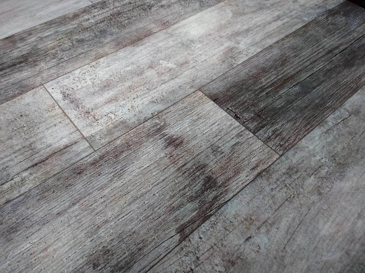 Ceramica imitacion madera color gris 60x60 cm 350 00 en mercado libre - Ceramica imitacion madera ...