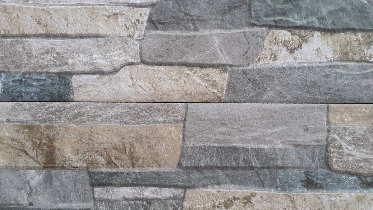 Ceramica imitacion piedra full hd color gris u s 30 00 for Ceramica tipo madera