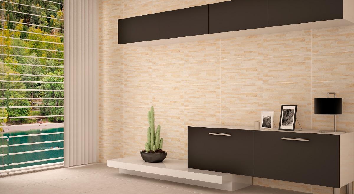 Ceramica revestimiento pared imitaci n piedra hd oferta 190 00 en mercado libre - Revestimiento paredes imitacion piedra ...