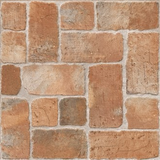 cerámicas de pisos exterior 57x57 pampas cotto/piemontesa