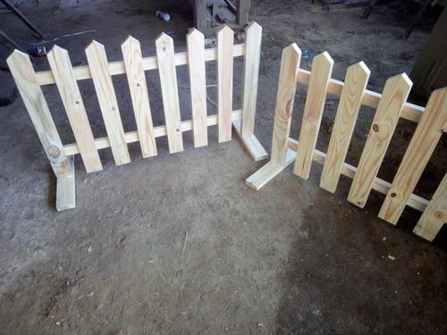 cercas de madera a medida