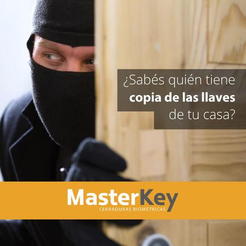 cerradura ymf30 código + tarjeta + llave,gtia yale masterkey