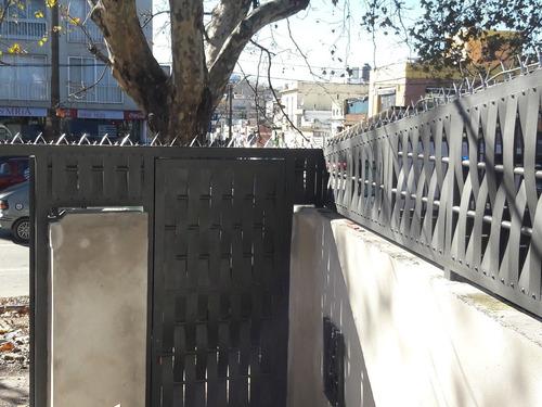 cerramiento perimetral varillas 14 mm 1,0 metro de altura