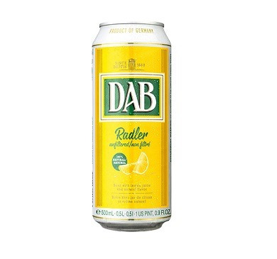 cerveza dab radler lata 500 ml