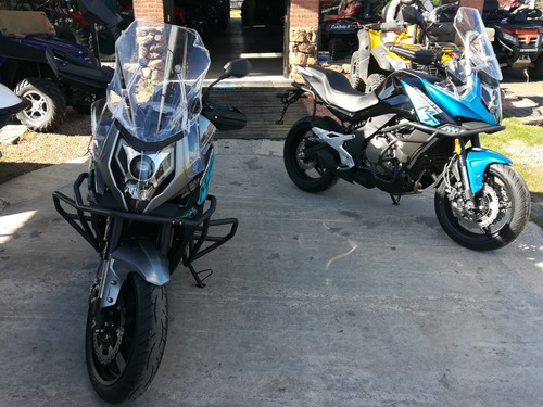 cfmoto mt650, doble abs, sport/eco. 60 x usd 220