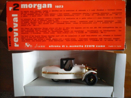 cg auto morgan 1923 marca brumm italy 1e:43 nuevo en caja