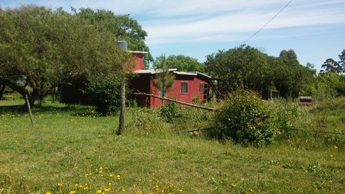 chacra de 3 hectareas, casa de 70 m2