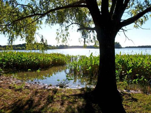 chacra sobre lago canelón grande..extes. vistas!