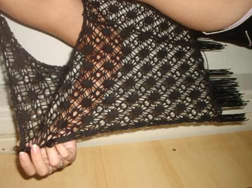 chaleco tipo kimono seda c flecos marca *no limits^ usa