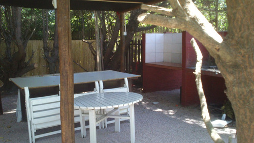 chalet a 100 mts.del mar. finde playero $3500 vier/dom
