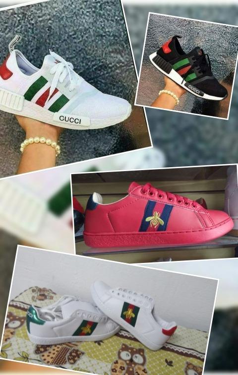 f52ba36b6fa77 Championes Gucci. adidas. Nike Y Otras Marcas -   1.590