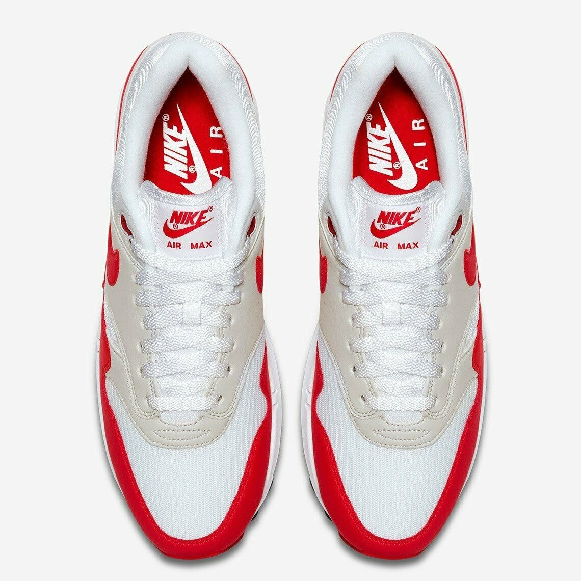 Championes Nike Air Max 1 Red White