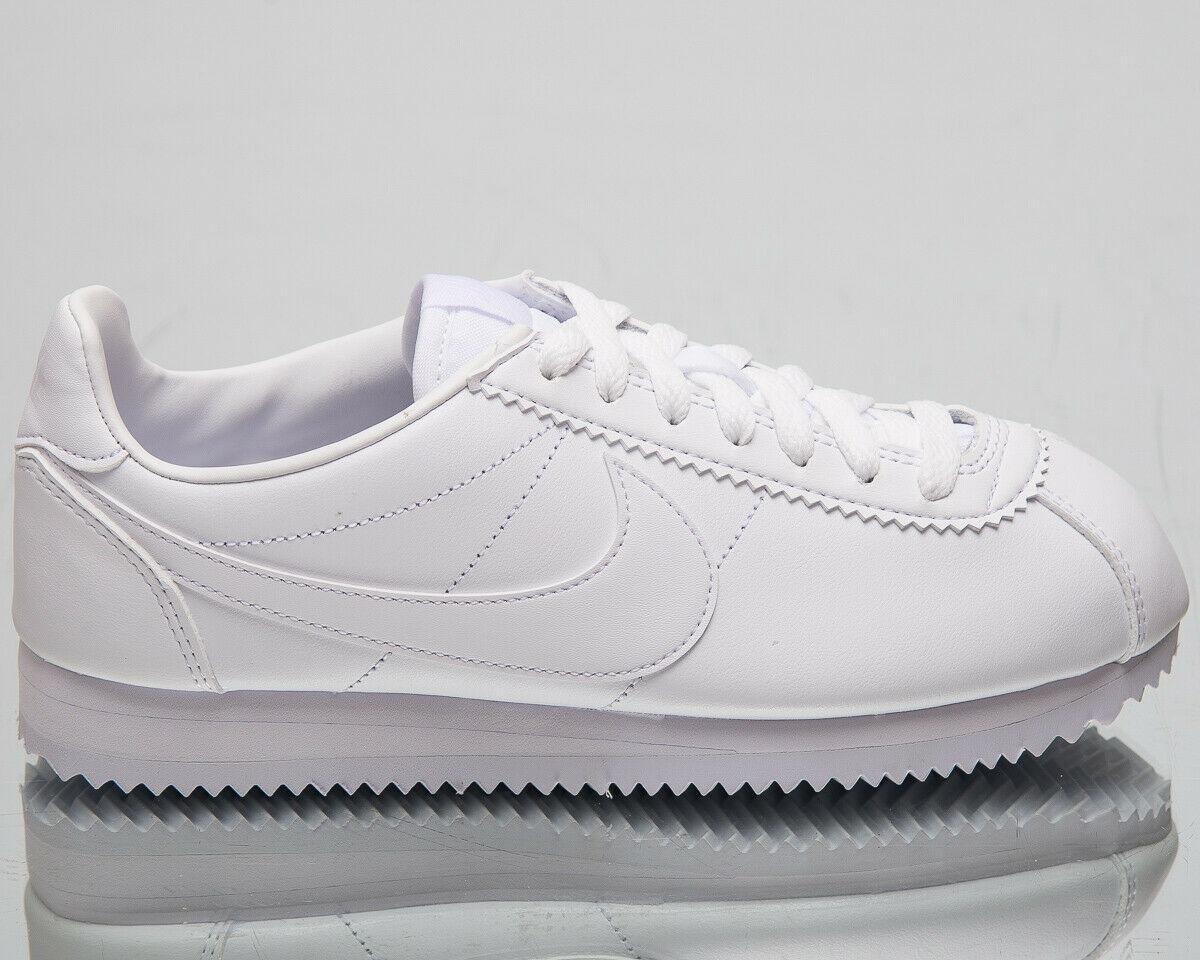 buy popular 4d762 039e5 Championes Nike Cortez Premium Triple White