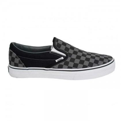 ee690a9f31938 Championes Vans Checkerboard Gray black -   2.190