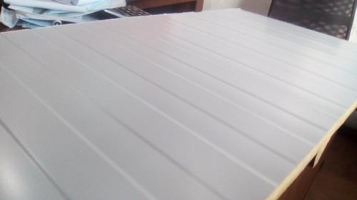 chapa con aislacion de poliuretano