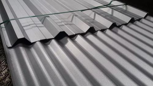 chapa galvanizada c26/41mm  calidad armco precio x mt.lineal