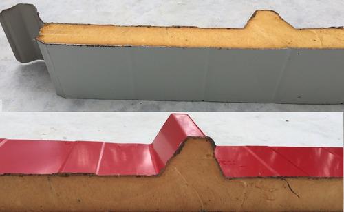 chapa trapecio poliuretano por metro lineal armco techo