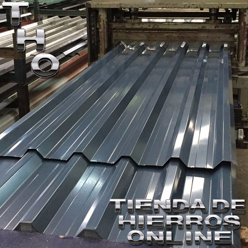 chapa trapezoidal galvanizada calib 24 xmetro ancho 1.04 tho